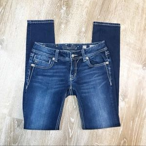 Miss Me | Skinny Med Wash Premium Denim jeans